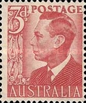 [King George VI, 1895-1952, type BO2]