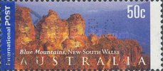 [Blue Mountains, New South Wales - Self-Adhesive, type BOB1]