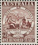[The 100th Anniversary of the First Australian Postage Stamp, type BR]