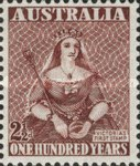 [The 100th Anniversary of the First Australian Postage Stamp, type BS]