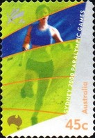[Paralympic Games - Sydney - Self-Adhesive, type BTJ1]