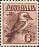[Definitive Issue - Kookaburra, type C]