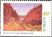 [The 100th Anniversary of the Birth of Albert Namatjira, type CBF]