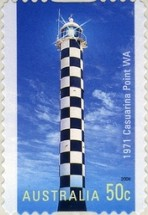[Lighthouses of the 20th Century - Self Adhesive, type CQR1]