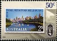 [The 50th Anniversary of the Melbourne Olympics, 1956, type CUL]