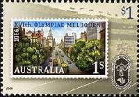 [The 50th Anniversary of the Melbourne Olympics, 1956, type CUN]