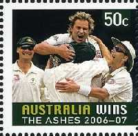 [Australia Wins the Ashes 2006-2007, type CUP]