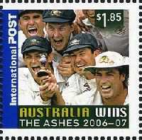 [Australia Wins the Ashes 2006-2007, type CUQ]