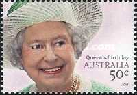 [The 81th Anniversary of the Birth of Queen Elizabeth II, type CWK]