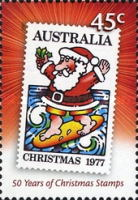 [The 50th Anniversary of the Christmas stamps, type CYI]