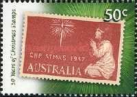 [The 50th Anniversary of the Christmas stamps, type CYJ]