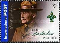 [The 100th Anniversary of Scouting in Australia, type CYS]