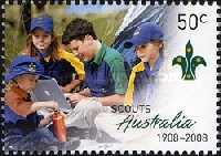 [The 100th Anniversary of Scouting in Australia, type CYT]