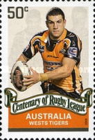 [The 100th Anniversary of the Rugby League, type CZC]
