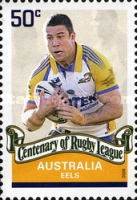 [The 100th Anniversary of the Rugby League, type CZD]