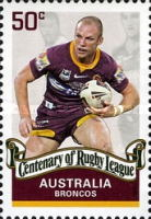 [The 100th Anniversary of the Rugby League, type CZG]