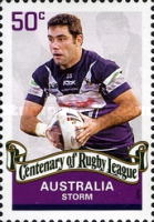 [The 100th Anniversary of the Rugby League, type CZI]