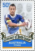 [The 100th Anniversary of the Rugby League, type CZK]