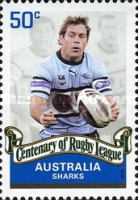 [The 100th Anniversary of the Rugby League, type CZL]