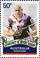 [The 100th Anniversary of the Rugby League, type CZN]