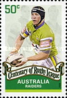 [The 100th Anniversary of the Rugby League, type CZO]