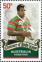 [The 100th Anniversary of the Rugby League, type CZP]