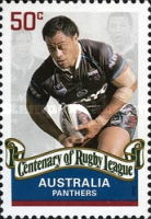 [The 100th Anniversary of the Rugby League, type CZQ]