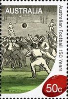[The 150th Anniversary of the Australian Football, type DBB]