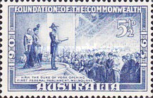 [The 50th Anniversary of The Foundation of Commonwealth, type DC]