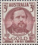 [The 100th Anniversary of the Discovery of Gold in Victoria & The 100th Anniversary of the Self Governance in Victoria, type DE]