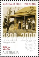 [The 200th Anniversary of the Australian Post, type DEH]