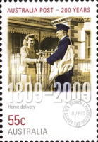[The 200th Anniversary of the Australian Post, type DEL]
