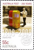 [The 200th Anniversary of the Australian Post, type DEO]