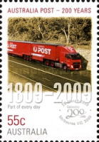 [The 200th Anniversary of the Australian Post, type DEP]