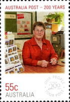 [The 200th Anniversary of the Australian Post - Everyday People, type DGY]