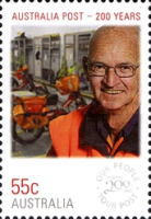 [The 200th Anniversary of the Australian Post - Everyday People, type DHB]
