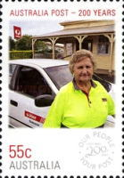 [The 200th Anniversary of the Australian Post - Everyday People, type DHD]