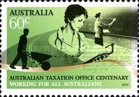 [The 100th Anniversary of the Australian Tax Office, type DKN]