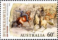 [The 150th Anniversary of Burke and Wills Crossing Australia, type DKP]
