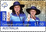 [The 100th Anniversary of Girl Guides, type DKT]
