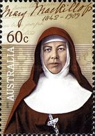 [Canonization of Mary MacKillop, 1842-1909, type DLH]