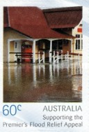 [Premier's Flood Relief Appeal - Self Adhesive Stamps, type DMG]