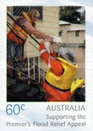 [Premier's Flood Relief Appeal - Self Adhesive Stamps, type DMH]
