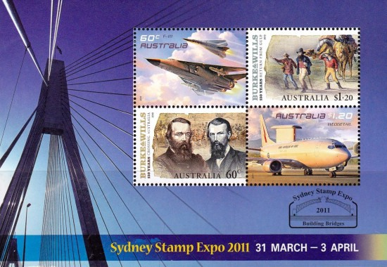 [National Stamp Exhibition SYDNEY STAMP EXPO 2012, type DMU]