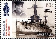 [The 100th Anniversary of the Royal Australian Navy, type DNJ]