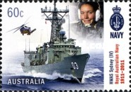 [The 100th Anniversary of the Royal Australian Navy, type DNK]