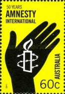 [The 50th Anniversary of Amnesty International, type DNQ]