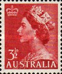 [Queen Elizabeth II - Crown in Upper Left Corner, type DO]