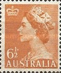 [Queen Elizabeth II - Crown in Upper Left Corner, type DO1]