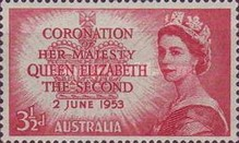 [The Coronation of her Majesty Queen Elizabeth II, type DP]